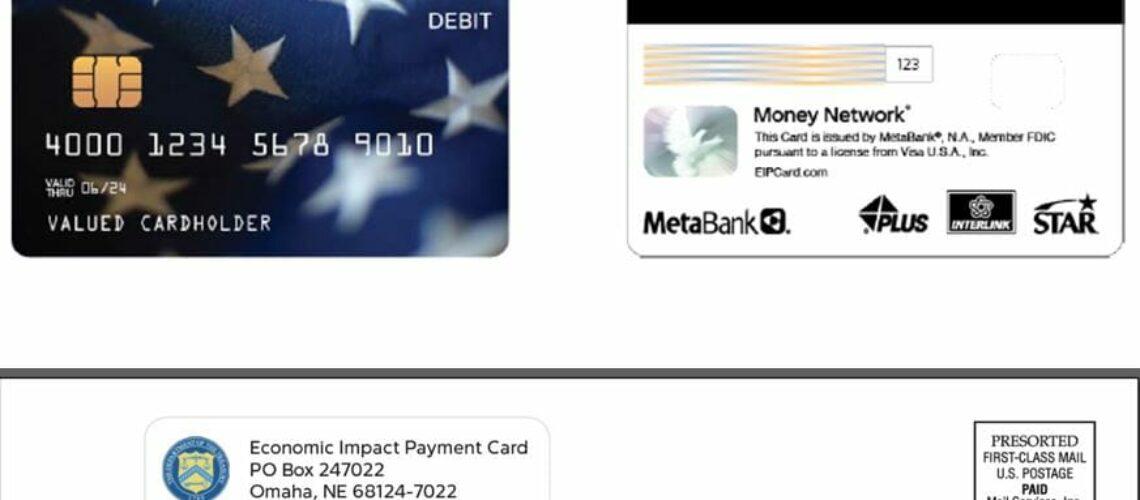 Foto de tarjeta de debito